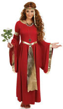 Ladies Lady Renaissance Costume for Tudor Middle Ages Cosplay Fancy Dress Large