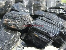 NATURAL STONE - BLACK TOURMALINE - 2000 CARAT Lots - Rough Rocks CRYSTAL HEALING