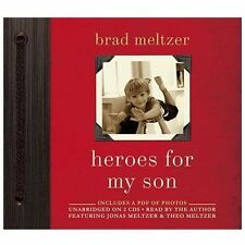 HEROES FOR MY SON unabridged audio book on CD by BRAD MELTZER - Brand New!