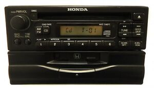HONDA Civic Accord CR-V CRV Prelude Odyssey Radio Tape Cassette CD Player OEM
