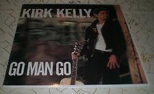 """KIRK KELLY (LP) -> """"GO MAN GO"""" [US 1988 / SST 223 """"FOLK ROCK"""" /+LYRIC INSERT] M-"""