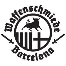 Auto Aufkleber Waffenschmiede Barcelona z.B. für Heckscheibe oder Lack