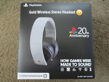 Official Sony PlayStation 4 Wireless Stereo Headset 20th Anniversary Edition PS4