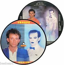 "SHARPE & Gary NUMAN   7"" Picture Disc CHANGE YOUR MIND / REMIX, REMAKE, REMODEL"