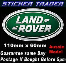Land Rover Logo Sticker Decal LandRover Suit 4x4 offroad Bull Bar Door Window