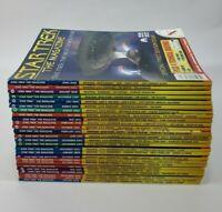 Lot 26 STAR TREK MAGAZINES + 35 Anniv STAR TREK TV GUIDE 1999-2002 Picard Kirk