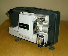 Fujicascope M20 Super 8mm Movie Film Projector W/ Reel & Case-Needs Power Cord