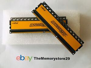 8GB Crucial Ballistix Tactical Memory DDR3 PC  PC3-12800 1600MHz DIMM Modules