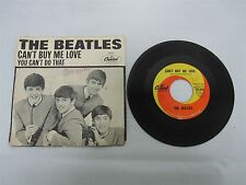 ORIGINAL 1964 BEATLES 45 U.S. CANT BUY ME LOVE with PICTURE SLEEVE 5150