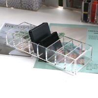 Acrylic Makeup Sponge Organizer Brush Holder Power Cosmetic Box Blender Case