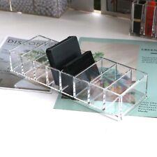 Acrylic Makeup Sponge Organizer Brush Holder Power Cosmetic Box Blender Case