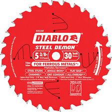 Diablo Steel Demon Ferrous Metal-Cutting Saw Blade - 5 3/8in x 30T, #D0530F