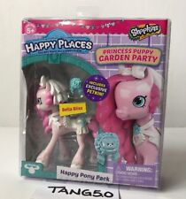 New Shopkins Happy Places Princess Puppy Garden Bella Bliss Happy Pony Pack