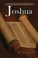 Joshua : A Lierary Commentary on the Book of Joshua 19 by Kenneth Bow (2017,...