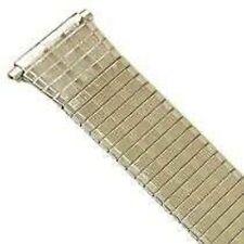 SPEIDEL 18-22MM SILVER TWIST O FLEX ULTRA THIN METAL EXPANSION STRAP WATCH BAND