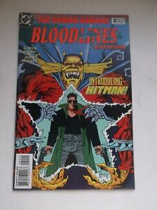 DC: DEMON ANNUAL #2, 1ST APP. OF HITMAN, GARTH INNIS, 1993, NM- (9.2)!!!