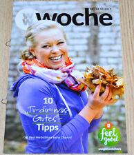 Weight Watchers Feel Good Woche 8.10-14.10 SmartPoints 2017 Wochenbroschüre NEU