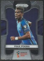 PAUL POGBA 2018 Panini Prizm World Cup Base Card France Manchester United