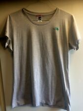 Ladies The North Face Grey short sleeve T-Shirt size XL