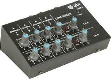 Compact Line Mixer, 8 Channel Mono / 4 Channel Stereo - QTX