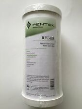 "PENTEK RFC-BB 25 MICRON 4.5"" X 10"" BB BIG BLUE 155141 CULLIGAN AMETEK-4 FILTERS"