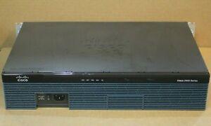 CISCO 2911/K9 V07 ROUTER WITH EHWIC 1GE-SFP-CU 1 PORT GIGABIT ETHERNET NETWORK