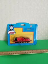 Thomas The Tank Engine & Friends red JAMES      Sodor Ertl Toy Train. RARE
