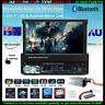 """1 Din Single 7"""" HD Car Radio MP5 Player Stereo Bluetooth Touch Screen FM Audio"""