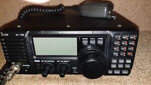 HF Transceiver ICOM 78 Marine