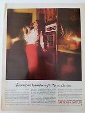 Vintage Norma Harrison Gaffers Sattler Modern Gas Range Stove Original Ad