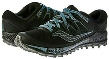Saucony Men's Peregrine ISO Series Trail Running Shoe, Black/Grey, 9M