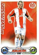 200 Bo Svensson - 1. FSV Mainz 05 - TOPPS Match Attax 2009/2010
