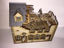 28mm ruined Normandy BUILDING KIT- 28-NYR-GR