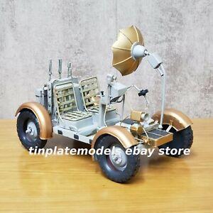 TINPLATE MODEL Rover Lunar Jeep Apollo SATURN 5 V tin metal handmade loft