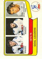 1976-77 O-Pee-Chee OPC WHA Hockey Trading Cards Pick From List Set Break One