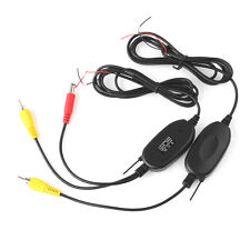2.4G Wireless Color Video Transmitter and Receiver for Car Backup/Front Camera