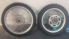 2007 yamaha wr250f oem wheel set