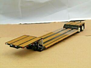 Dcp black Fontaine Renegade tandem axle double drop trailer new no box 1/64