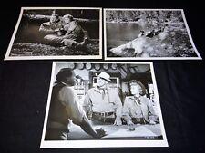 LA REINE DE LA PRAIRIE ronald reagan  Stanwyck photos presse cinema western 1954