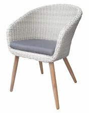 Euro Italia Wicker Dining Chair - Mix Beige