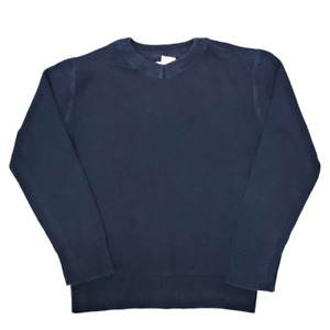 Cherokee Boys Sweater S 6/7 Navy Blue V Neck Long Sleeve Photos Pictures Holiday
