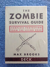 THE ZOMBIE SURVIVAL GUIDE Card Game Max Brooks Potter Style NEW Sealed