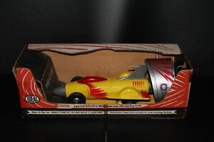 VINTAGE 1950's IDEAL TURBO-JET CAR w/ AUTOMATIC LAUNCHING PLATFORM IN BOX