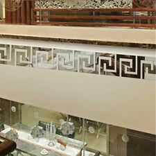 10pcs Modern Acrylic Plastic Mirror Stickers Wall Home Decal Decor Art DIY