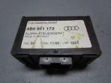 AUDI A3 (8L1) 1.8 T APPAREIL DE COMMANDE 4B0951173 alarme