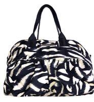 Womens CALVIN KLEIN CK lightweight Purse Handbag Medium Size Double Handle Zip
