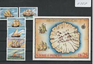 (0358) Sao Tomé und Principe 1979, Segelschiffe