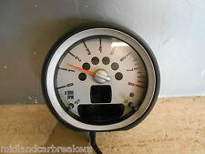 BMW MINI COOPER S 2007 R56 1.6T REV COUNTER DIAL CLOCK 9153402