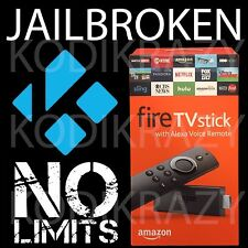 AMAZON FIRE TV STICK 2nd Gen w/v17.4 NO LIMITS BUILD! THIS HAS IT ALL!