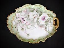 Antique Limoges Porcelain ART NOUVEAU Serving Tray Platter Plate